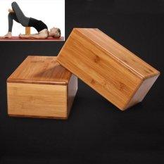 1 Pcs Baru High-density Alami Bambu Yoga Blok Batu Bata Tinggi Quality Home Latihan Kebugaran Gym Latihan Olahraga Alat-Internasional
