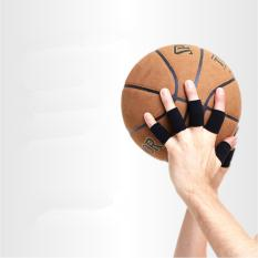 10 PICE Kiper Sarung Tangan Setengah Jari Tangan Brace Basketball Voli Finger Guard Hand Finger Half Finger Sarung Tangan-Intl