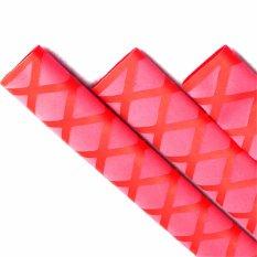 100*3.3 Cm Non-Slip Bungkus Susut Panas Tabung Tongkat Pancing Pegangan Isolasi Tahan Air Gagang Raket Pegangan (Merah)-Intl