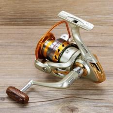 1000 Seri Aluminium Spul Superior Rasio 5.5: 1 12BB Carretilha Para Pesca Reel Baitcasting Spinning Reel Kiri/Kanan Dipertukarkan Rocker Gratis Pengiriman-Intl