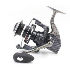 10000 Series 12 + 1BB Full Metal Line Cup Spinning Reel Large Long Shot Wheel Fishing Reel