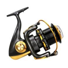 10000 Series 12 + 1 Ball Bearing 4.6: 1 Logam Spul JIGGING Trolling Casting Tembakan Panjang Air Laut Berselancar Berputar Reel Perikanan Laut Besar-Intl