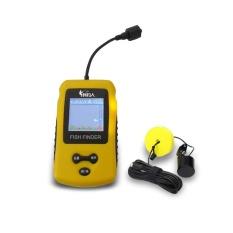 Harga 100 M Wireless Fish Finder Sonar Fishfinders Alarm Transduser Intl Murah