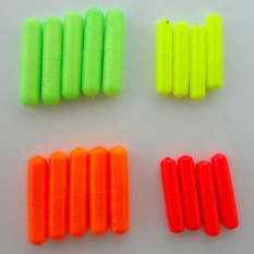 Review Pada 100Pcs Fishing Float Stops For Bobber Line Grips Floater Carp Tackle Gear S M L Intl