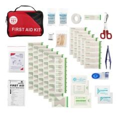 Harga 101Pcs Safe Travel First Aid Kit Camping Hiking Medical Emergency Kit Treatment Pack Set Outdoor Wilderness Survival Intl Yang Bagus