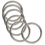 Harga 10 Pcs 3X30Mm Ditempa Aisi 316 Stainless Steel Welded Round Ring Perahu Hardware Rigging Hardware Intl Oem Original