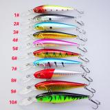 Jual 10 Pcs Lot 11 Cm 10 5G Buatan Fishing Lure Hard Bits Plastik Minnow Intl Branded Murah