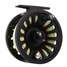 1 + 1B Bearing Fly Fishing Reel Fishing Line + Extension Line + Taper Leader + Tippet Set