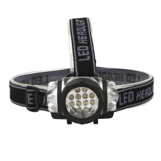 12LED Headlamp Headlight Senter Lampu Utama Lampu Senter-Intl