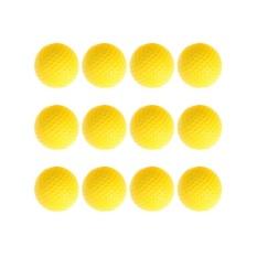 Daftar Harga 12 Pcs Golf Pu Bola Interior Pemula Training Lembut Ball Kuning Intl Oem