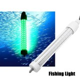 Promo 12V Led Green Underwater Fish Night Fishing Light Squid Lamp Lure Bait Finder Intl Not Specified Terbaru