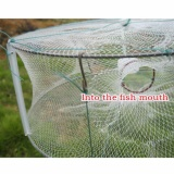 Spek 13 X 13 Memancing Perangkap Edaran Memancing Ikan Kepiting Bersih Minnow Green