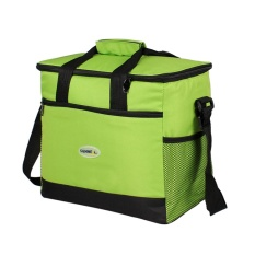 Promo 16L Besar Kapasitas Thermal Bag Portable Makanan Piknik Handbag Travel Cooler Insulated Bags Volume 16L Warna Hijau Intl