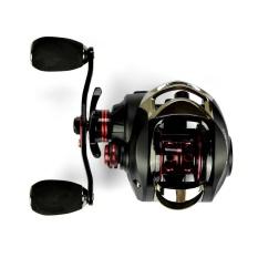 17 + 1 Ball Bearings Baitcasting Fishing Reel 7.0: 1 Gulungan Umpan Umpan Tangan Kiri Fishing Reel dengan ONE WAY Clutch Baitcasting Reel-Intl