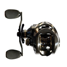 17 + 1 Ball Bearing Carbon Baitcasting Fishing Reel 7.0: 1 Gulungan Umpan Umpan Tangan Kiri Fishing Reel dengan ONE WAY Clutch Baitcasting Reel-Intl
