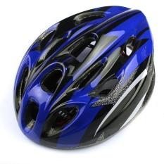 18 Ventilasi Dewasa Olahraga Gunung Sepeda Jalanan Helm Sepeda Biru-Intl
