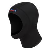 Jual Beli 1Mm Cap Neoprena Snorkeling Scuba Diving Menyelam Penyelam Topi Tudung Topi Hitam M