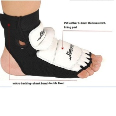 [size L] 1pair Ankle Brace Support Pad Guard Foot Gloves Protection Mma/muay Thai/boxing - Intl By Js-Store.