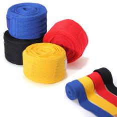 Harga 1 Pasang Kick Boxing Perban Tangan Membungkus Mma Pelatihan Pukulan Sarung Tangan Perlindungan Tangan Merah Fullset Murah