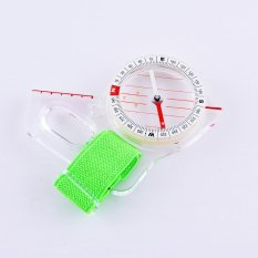 Jual 1 Pc Outdoor Profesional Thumb Kompas Elite Kompetisi Orienteering Compass Portable Compass Map Scale Kompas Intl