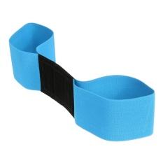 Diskon 1 Pcs Golf Belt Arm Postur Gerak Koreksi Golf Alat Bantu Pelatihan Golf Peralatan Biru