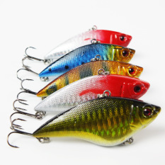Diskon 1 Pcs Panggang Luyaminuo Floating Wave Lure Bait Minnow Lures Fishing Lures Tiongkok