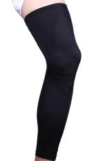 Ulasan Lengkap 1 Pcs Berkualitas Tinggi Olahraga Kaki Pendukung Lutut Memperpanjang Elastis Panjang Lengan Warmer Protector Gear Ukuran Xl Intl