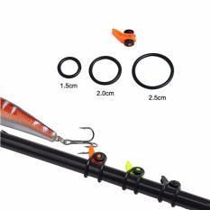 1 Set Adjustable Aman Fishing Rod Easy Aman Hook Keeper Holder Lures Jig Hitam-Intl