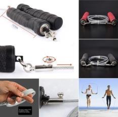 Jual 2 8 M Disesuaikan Kecepatan Lompat Steel Wire Rope Kecepatan Melewatkan Latihan Gym Hitam International Branded Original