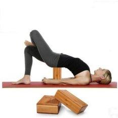 2 Pcs Baru High-density Alami Bambu Yoga Blok Batu Bata Tinggi Quality Home Latihan Kebugaran Gym Latihan Olahraga Alat-Internasional