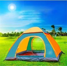 Spek 2 Detik Terbuka Yang Cepat 2 Orang Berkemah Dan Outdoor Tent Dengan Pintu Tunggal 6 Warna Intl