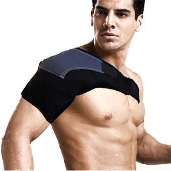 ... 2016 Jaminan Kualitas Neoprena Penahan Nyeri Artritis Cedera Dislokasi Bahu Magnetik Dukungan Tali Pengikat Hitam