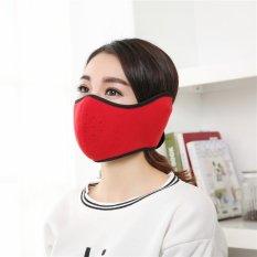 2017 Aidini LAZADA Explosion Hangat Mask Fleece Riding Kreatif Masker Pelindung Telinga Bag-Intl