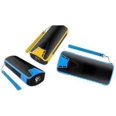 2017 Pada Akhir Daftar Pribadi Mode Bluetooth Speaker dengan Mobile Power Senter Fungsi Bluetooth Subwoofer (biru) -Intl