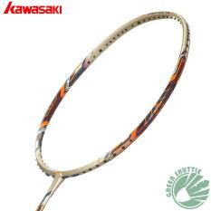 Promo 2017 Kawasaki Bamintion Tinggi Ketegangan 5330 Badminton Racquet Unstrung Intl Kawasaki Terbaru