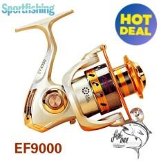 2017 New Brand Aluminum Spool Superior Ratio 5.5:1 12BB baitcasting fishing reel spinning reel (9000)  - intl
