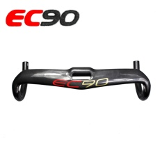 2017 Nuevo De Fibra De Carbono EC90 Bicicleta Carretera De Fibra De Carbono Mangga Graeca Manillar De Carbono Manillar De Bicicleta De Carretera 31.8-420mm-Intl