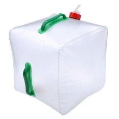 Harga 20L Dilipat Folding Camping Water Carrier Handle Wadah Tap Outdoor Tas Oem Online