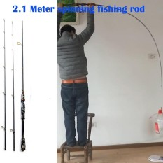 Daftar Harga 2 1 Meters 2 Tips Carbon Spinning Rod M Mh Fishing Rod Lure Fish Pole Intl Oem