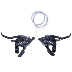 Ulasan 21 Speed Bicycle Shifter Brake Conjoined Dip Derailleurs Mountain Bike Hand Intl