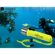 Harga 2100Lm Cree Q5 Led Dive Diving Flashlight Waterproof Underwater Scuba Dive Torch Light Lamp Lanterna Torche Untuk Menyelam M647 01 Intl Tiongkok