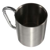 Harga 220 Ml Kopi Cangkir Mug Stainless Steel Cangkir Berkemah Di Luar Ruangan Karabiner Kait Dinding Ganda Dan Spesifikasinya