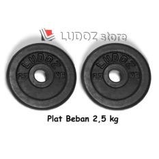 2.5Kg Plat Beban Dumbell Plate Barbell Dumbbell Plate 2.5 Kg Barbel