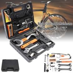 28 In 1 Portable Lengkap Sepeda Sepeda MTB Ban Ban Perbaikan Pemeliharaan Alat Kit-Internasional