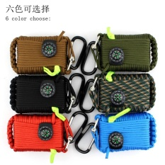 Review 29 In 1 Outdoor Emergency Survival Kits Sos Survival Tools Gear First Aid Kit For Camping Hiking Hunting Traveling Emergency Color Blue Intl Terbaru