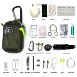 Jual 29Pcs Outdoor Survival Kit First Aid Tools Camping Rescue Gear Emergency Kit Intl Online Di Tiongkok