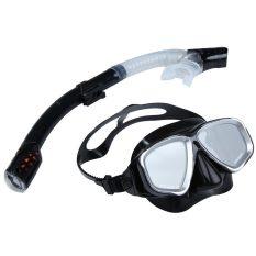 Jual Cepat 2 In 1 Renang Menyelam Pelindung Mata Masker Snorkeling Set Tabung Pernapasan