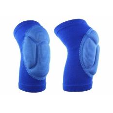 2 Pc Outdoor Extreme Sports Bantalan Lutut Melindungi Sepak Bola Bersepeda Pelindung Lutut Bu Intl Promo Beli 1 Gratis 1