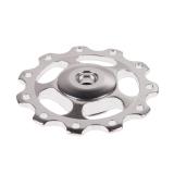 Harga 2 Buah 11T Sepeda Aluminium Paduan Bantalan Roda Joki Belakang Derailer Perak Yg Bagus