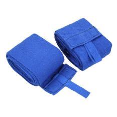 Jual 2Pcs 2 4M Boxing Handwraps Pembalut Mma Train Wrist Melindungi Fist Punching Warna Sticker Sihir Secara Acak